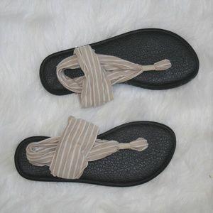 🌺Sanuk Yoga Sling 2 Women's Print Knit Sandals 8